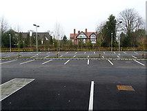 SJ7886 : College car park by Anthony O'Neil