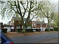 TL2511 : Detached houses, Beehive Lane, WGC by Christine Johnstone