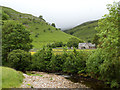 SD9477 : View from Buckden Bridge by Stephen Craven