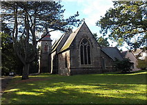 ST2896 : Holy Trinity Church, Pontnewydd, Cwmbran by Jaggery