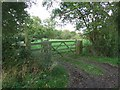 TM0835 : New Wooden Gate by Keith Evans