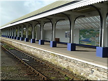 SW8132 : Falmouth Docks Station by Chris Allen