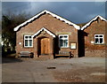 SO4520 : Skenfrith village hall by Jaggery