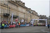 ST7565 : Ready for the start of the Bath Half Marathon 2013 by Rod Allday