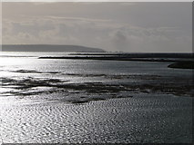 SZ3394 : Lymington: Needles view across the marshes by Chris Downer