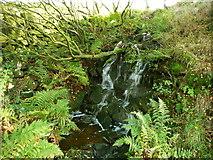 SE0023 : Waterfall on Hey Clough by Humphrey Bolton