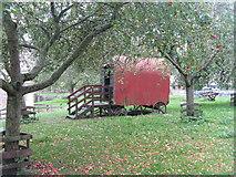 ST5038 : Shepherd's hut at Glastonbury by M J Richardson