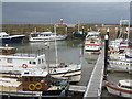 ST0743 : Boats in Watchet Marina by M J Richardson