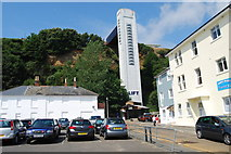 SZ5881 : Shanklin Cliff Lift by Barry Shimmon