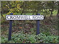 TM4288 : Cromwell Road sign by Adrian Cable