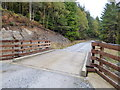 NH4114 : The Great Glen Way, bridge over Innerack Burn by Dave Kelly