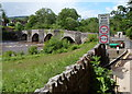SO1520 : Weight and width restrictions across Llangynidr Bridge by Jaggery