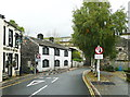 SE0125 : Traffic calming, New Road, Mytholmroyd by Humphrey Bolton