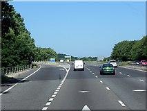 SU5707 : M27, Sliproad at Junction 10 (North Hill) by David Dixon