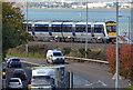 J4079 : Train, the Holywood bank (2) by Albert Bridge