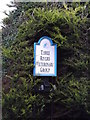TM4288 : Three Rivers Veterinary Group sign by Adrian Cable