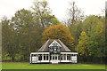 TF0306 : Burghley Park Cricket Club by Richard Croft