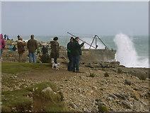 SY6768 : Storm watchers Portland Bill by sue hogben
