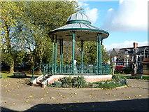 ST1774 : Bandstand in Grange Gardens by Graham Hogg