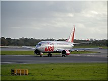SJ8184 : Jet 2 G-CELF at Manchester Airport by David Dixon