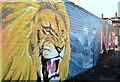 "J3574 : ""Narnia"" mural, Belfast (2) by Albert Bridge"