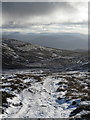 NH7508 : North west of Meall a' Chòcaire by William Starkey