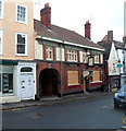 ST7593 : White Lion boarded-up, Wotton-under-Edge by Jaggery