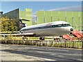 SJ8184 : BEA Trident 3, Manchester Airport Runway Visitor Park by David Dixon