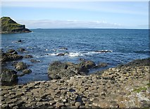 C9444 : Part of the western edge of the Giant's Causeway by Eric Jones