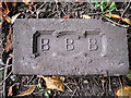 NY3955 : Brick from old railway bridge? by Rose and Trev Clough
