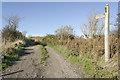 TR1043 : North Downs Way track by Julian P Guffogg
