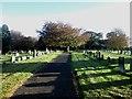 NY4153 : Upperby Cemetery, Carlisle (2) by Graham Robson