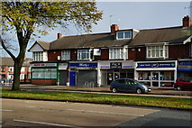 TA0832 : Shops on Beverley Road, Hull by Ian S