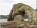 D0244 : The Ballintoy Arch from the south-east by Eric Jones