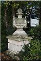 TA0532 : A stone Urn, Thwaite Hall, Cottingham by Ian S