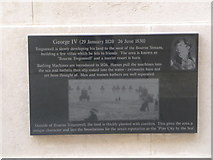 SZ0890 : Bournemouth: Diamond Jubilee Plaque (4) by Chris Downer
