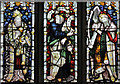 SK7887 : Stained Glass Window, St Martin of Tours church, Saundby by J.Hannan-Briggs