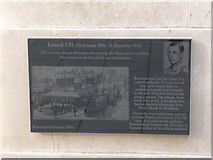 SZ0890 : Bournemouth: Diamond Jubilee Plaque (11) by Chris Downer