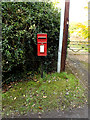 TM4671 : St.Helena Postbox by Geographer