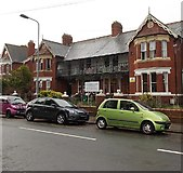 ST1166 : Island View residential care home, Barry Island by Jaggery