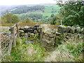 SE0023 : Gate on Hebden Royd FP115 by Humphrey Bolton