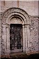 TR2650 : St Nicholas, Barfrestone: Norman doorway by Stephen Craven