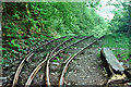 SH6806 : Top of incline above Nant Gwernol station, 1980 by Robin Webster