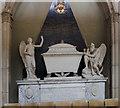 TQ7468 : Memorial to Dame Anne Henniker, Rochester cathedral by Julian P Guffogg