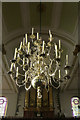 TQ3579 : Chandelier, St Mary the Virgin, Rotherhithe by Julian Osley