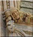 SK9771 : Carving at Lincoln Cathedral by J.Hannan-Briggs
