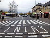 H4572 : Pedestrian crossing, Omagh by Kenneth  Allen