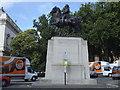 TQ2980 : Edward VII statue, Wellington Place by Stephen Craven