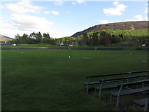 NO1491 : At Braemar - Highlands Games field by Colin Park