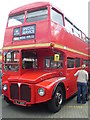 TQ1471 : A London Routemaster Bus at Fulwell Bus Depot by David Hillas